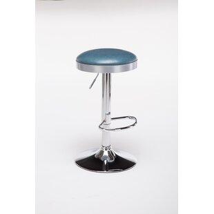 Ebern Designs Ferranti Adjustable Height Swivel Bar Stool
