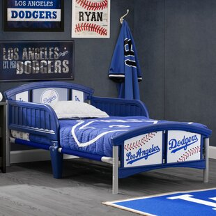 Deals Los Angeles Dodgers Plastic Toddler Bed by Delta Children Reviews (2019) & Buyer's Guide
