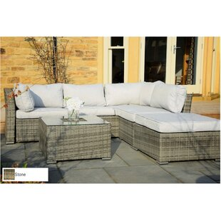 Atterberry 5 Piece Sectional Set with Cushions