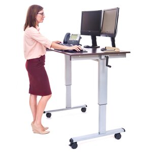 Casters Standing Desk