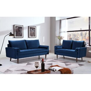 Littlejohn 2 Piece Living Room Set By Everly Quinn