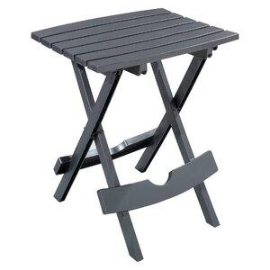 Quebec Folding Plastic Side Table