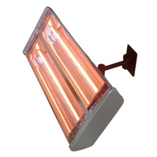 Double 1500 Watt Electric Ceiling Mounted Patio Heater By AZ Patio Heaters