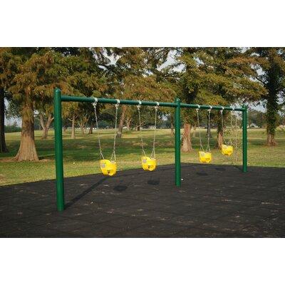 4 Seat 1 Post Swing Set Kidstuff Playsystems Inc