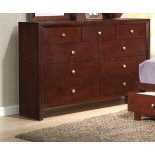 Alcott Hill Alexei 9 Drawer Double Dresser