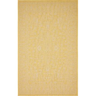 Arbor Glen Yellow Indoor/Outdoor Area Rug