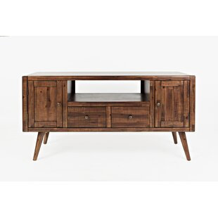 Beckles Wooden Media Console TV Stand for TVs up to 58
