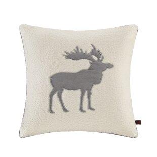 Moose Berber Throw Pillow
