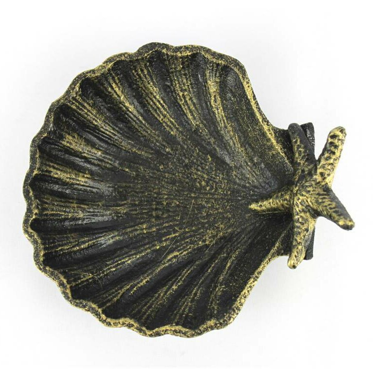 Beachcrest Home Bastimentos Shell With Starfish Decorative Bowl Reviews Wayfair