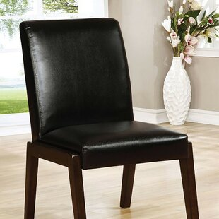 Barber Upholstered Dining Chair (Set of 2) Latitude Run