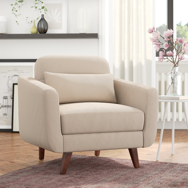 Elle Decor Chloe Armchair & Reviews | Wayfair.co.uk