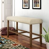 Moran Upholstered Bench by Andover Mills™