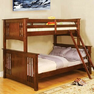 Read Reviews Genebern Twin over Full Bunk Bed By Harriet Bee