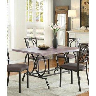 Red Barrel Studio Alaric Wooden Dining Table