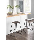Upper Stanton Industrial 24 Bar Stool (Set of 2) by Union Rustic