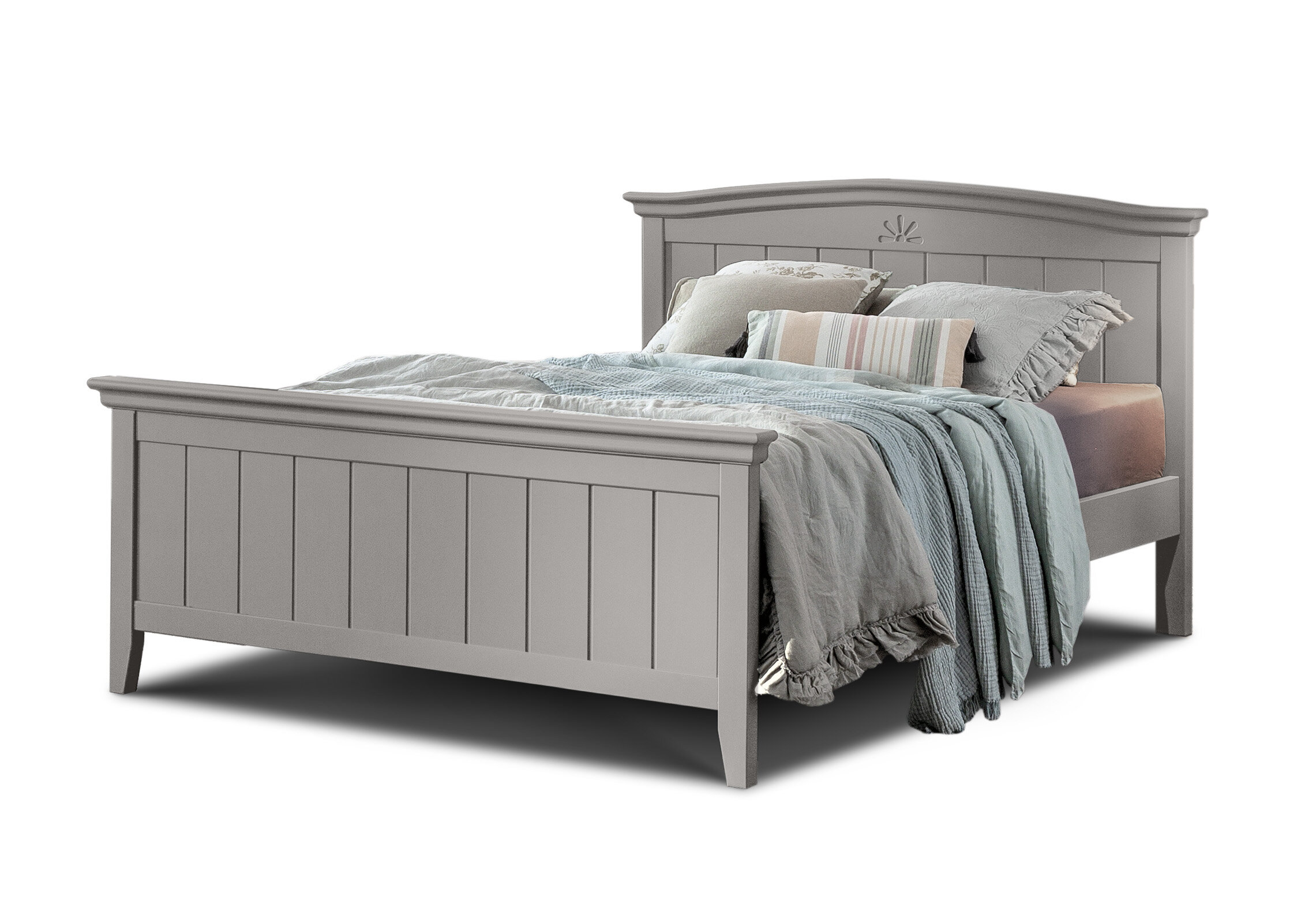 Jonael Full XL Platform Bed