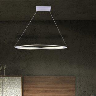 Lattice 3-Light LED Novelty Chandelier by Contempo Lights Inc