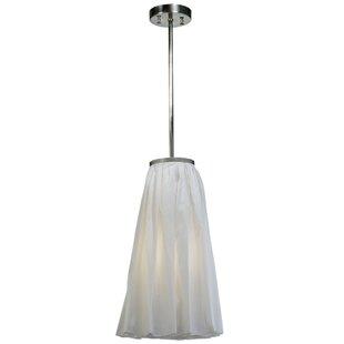 Meyda Tiffany Drapery 1-Light Novelty Pendant