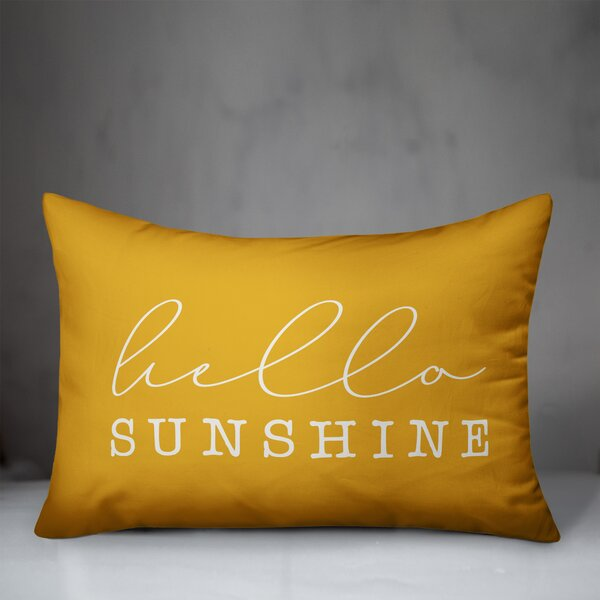 Hello Sunshine Pillow Wayfair