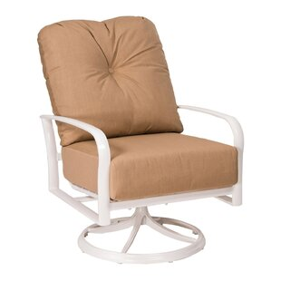 Fremont Swivel Rocking Lounge Chair with Cushions by Woodard