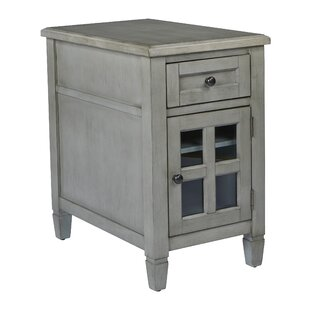 Zahara End Table with Storage by August Grove