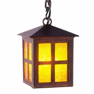 Steel Partners Old Faithful 1-Light Lantern Pendant