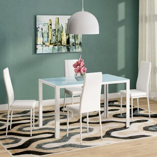 Dimattia 5 Piece Dining Set