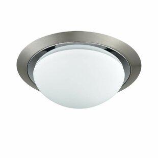 Winston Porter Wattisham 1-Light LED Integrated Flush Mount