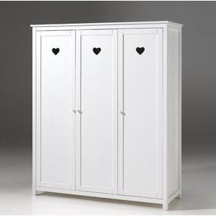 Andrews 3 Door Wardrobe By Harriet Bee