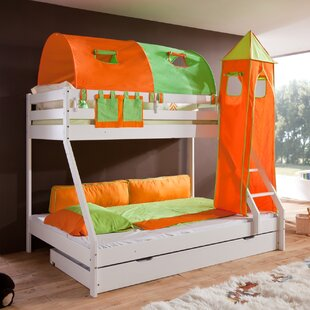 Faircloth Bunk Bed With Drawer And Textile Set By Zoomie Kids