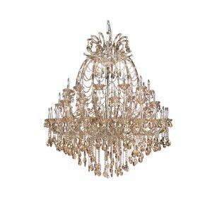 Rosdorf Park Horsham 48-Light Candle Style Chandelier