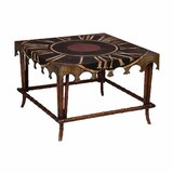 Arenijus Solid Wood 4 Legs Coffee Table by Bloomsbury Market