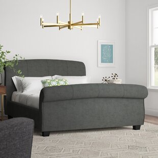 Sonntag Upholstered Sleigh Bed By Ophelia & Co.