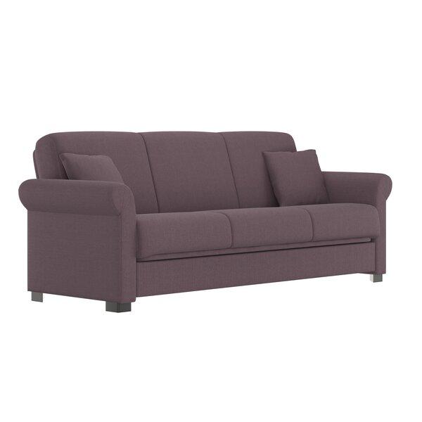 Sensational Dark Purple Sofa Wayfair Caraccident5 Cool Chair Designs And Ideas Caraccident5Info