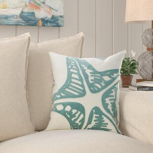 Chilhowee Embroidery 100% Cotton Throw Pillow