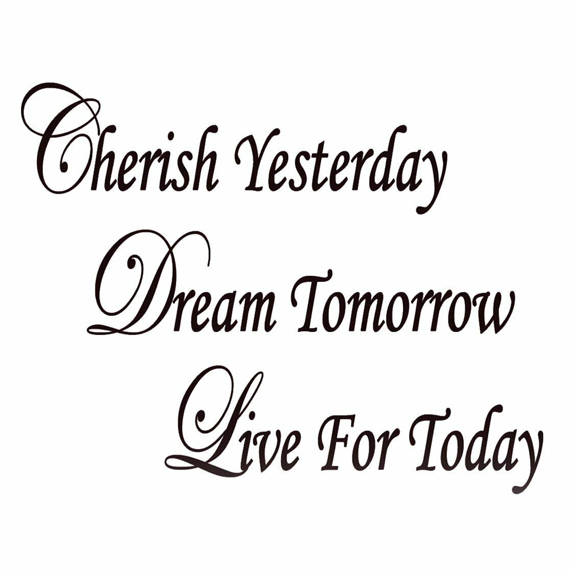 winston porter cobbett cherish yesterday dream tomorrow live today