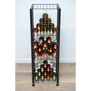 Case and Crate X-Bin Insert 12 Bottle Floor Wine Rack by VintageView