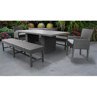 Medley 5 Piece Dining Set with Cushions