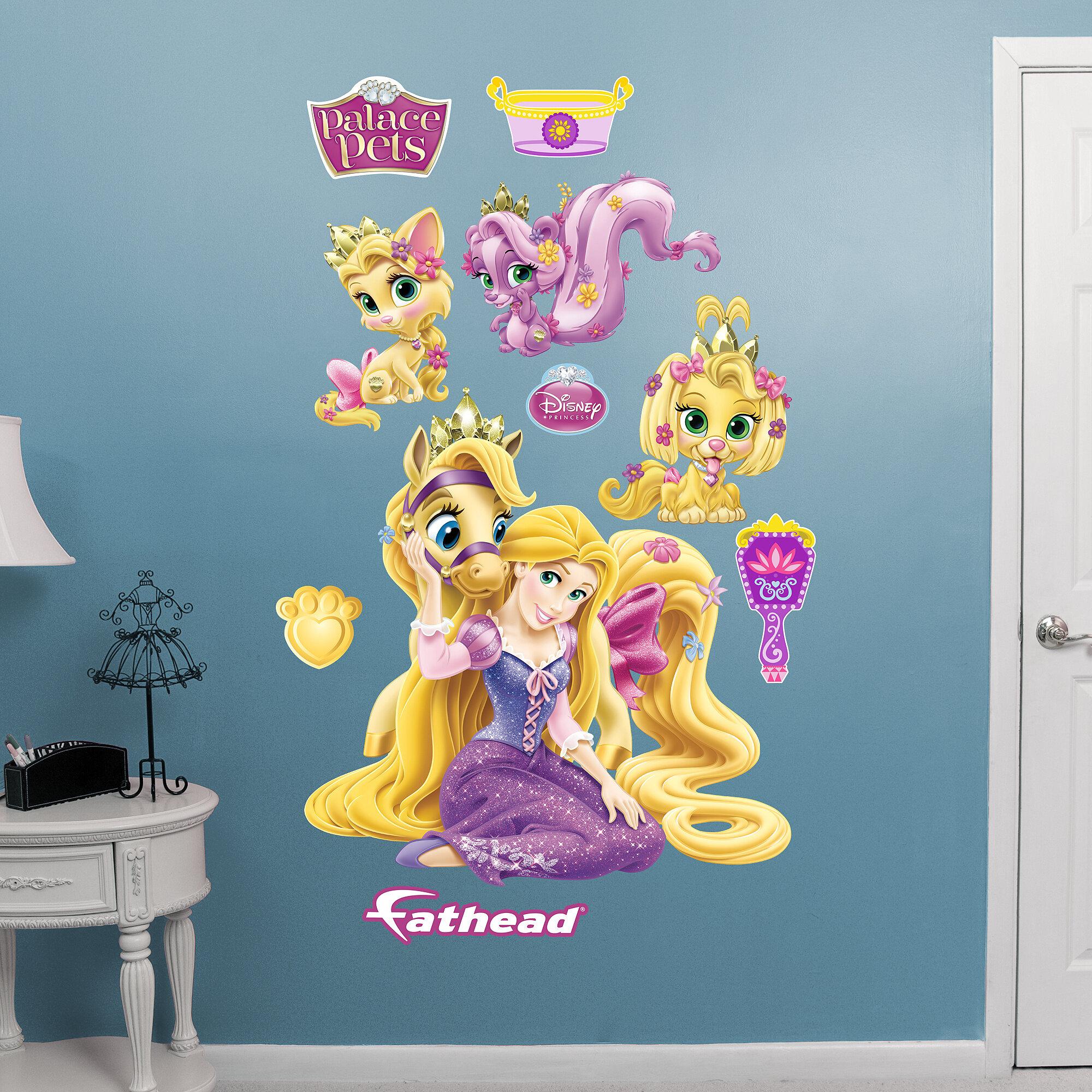 Fathead Disney Palace Pets   Rapunzel   Disney   Princesses Wall Decal U0026  Reviews | Wayfair