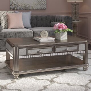 Annunziata Coffee Table with Magazine Rack by Willa Arlo Interiors SKU:DE752978 Check Price
