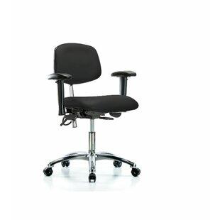 Symple Stuff Neve Desk Height Ergonomic O..