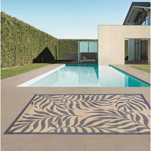 Houser Blue/Beige Indoor/Outdoor Area Rug