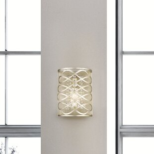 Compare prices Kehoe 1-Light Wall Sconce By House of Hampton