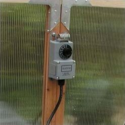 Greenhouse Heating Thermostat. By Sunshine Gardenhouse