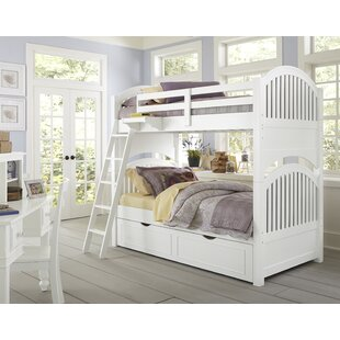 Compare prices Nickelsville Twin Over Twin Bunk Bed with Trundle by Three Posts Reviews (2019) & Buyer's Guide