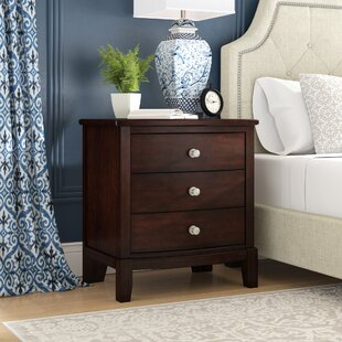 Blumer 3 Drawer Nightstand