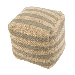 Thornton Modern Pouf Ottoman by Beachcrest Home