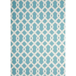Sun N' Shade Blue Indoor/Outdoor Area Rug by Nourison