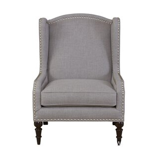 Tonia Wingback Chair by Canora Grey