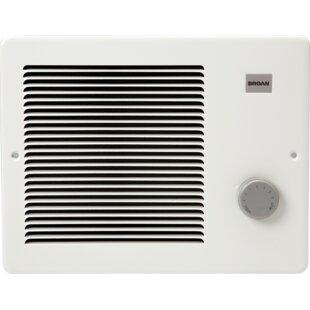 Electric Fan Wall Mounted Heater By Broan NuTone